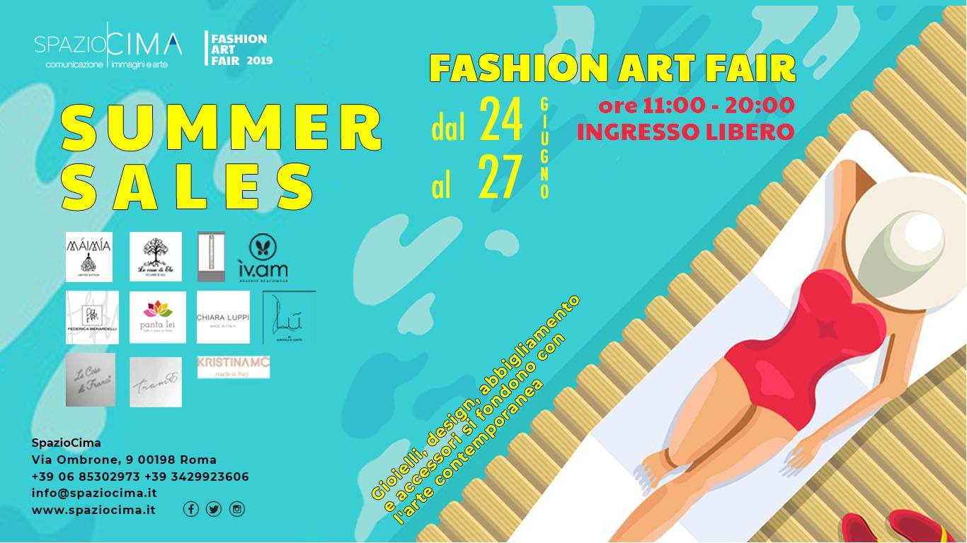 Invito FASHION ART FAIR GIUGNO 2019